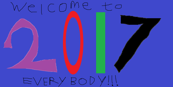 Welcome to 2017 EVERYBODY !!! by Tyler5544