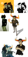 Homestuck collage by Peek-aBoo