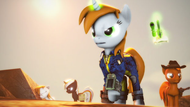 {SFM} Fallout Equestria: Survivors by jaygaming1