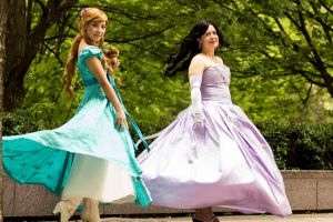 Princess Twirl by BertLePhoto