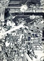 OLD SCHOOL Megalopolis 1980 by PaulSizer
