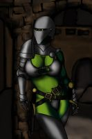 Mila in Armour 4 by balthazarstable