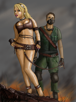 Wasteland slave by chain-man