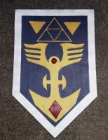 The Legend of Zelda Shield VIII by Gryphon009