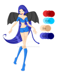 Succubus OC for Mega-Man-King487 by Shelly143