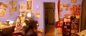 Panoramic of my Room by MaddieHatter3337