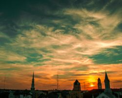 Savannah Sunset by LashelleValentine