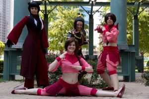 Ozai's Angels by Aether-Shadow
