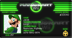 my mario kart license .,...123 by leon-the-wolf