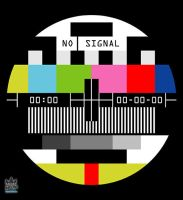 No Signal design by cosmicsoda