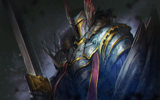 Paladin : Daily Spitpaint by NeoArtCorE