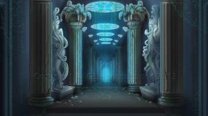 Commission - Atlantis tunnel by CassiopeiaArt