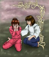 Spirited Away - color by mylittlejoy