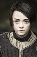 Arya Stark - Game of Thrones by Lukecfc