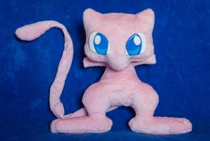 Mew - Pokemon Plush Handmade - For Sale by tiny-tea-party