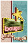 bouge graphic boutique-poster by thomasdian