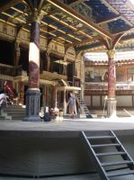 Globe Theatre... by furiousflamewolf