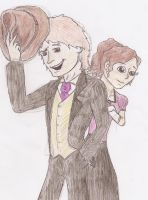 Sir Fya and Ms. Maria 2 by sgste