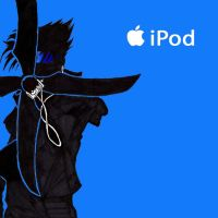 Ipod-Sasuke by Mockingbyrd