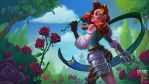 Dungeon Defenders 2 Countess Illustration by JordanKerbow