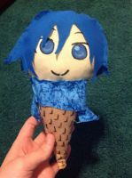 Kaito Plushie by I-AM-TIMLORD