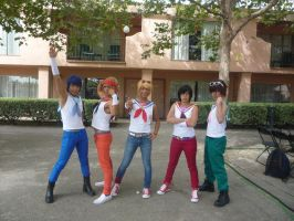 Sailor moon men by DuskanDawn