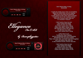 Ellegance Cd Art Display by burnsplayguitar