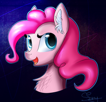 Pink P by SnowSky-S