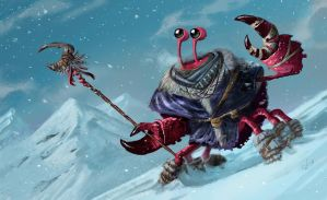 Snow Crab by JeffVictor