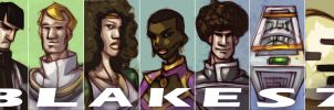 Blakes 7 - season 3 by Equattro