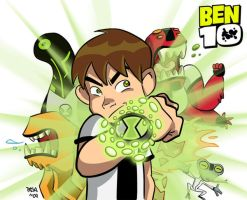 Ben 10 by pasatheone