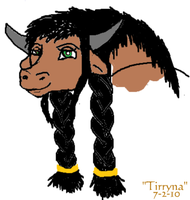MS Paint- Tirryna by SailorX