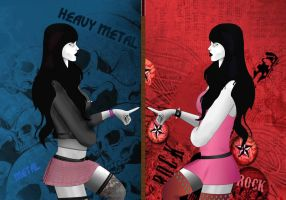 Dual Refective Personality by VerminGTi