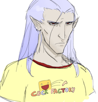Magus with T-Shirt -COLORED- by maggiekarp