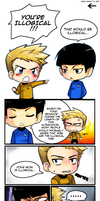 Chibi Trek Filler Comic by ZombieDaisuke