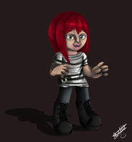 me as a dolly by familyof6
