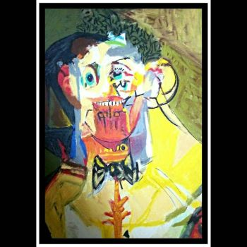 After George Condo  6 (variations on cubist faces  by cvisuali