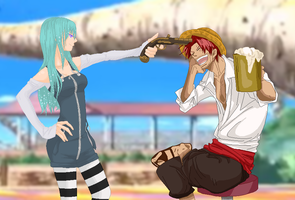 .:Eve and Shanks:. by alexpc901