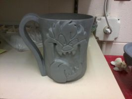 Unfinished Taz Mug by xXLizzyChickXx