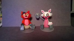 Cake Toppers by Tiffanime1
