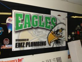 Eagles Banner by steveclaus