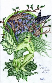 the Green Faerie by faeryland