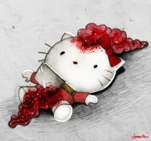 hello dead kitty by berkozturk