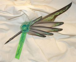Synthesis - handpainted Featherquill by Ganjamira
