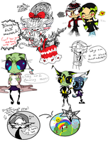 MS paint doodles by Nedrian