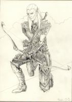 elven archer by eclipse79