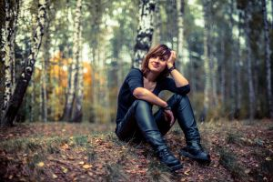 Asken in the woods by OloS