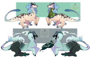 Oceanic Auction CLOSED by SinCommonStitches