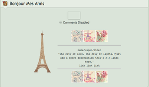 Paris Non Core Page Code by kitty2katniss
