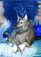 Narga, Queen of Hounds by PippinIncarnate